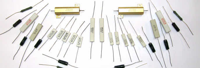 Resistors,Pots, Switches