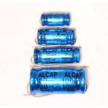 Alcap 10.00uF High Power 100VDC Electrolytic Capacitor