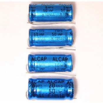 Alcap 25.00uF Low Loss 50VDC Electrolytic Capacitor