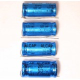 Alcap 4.00uF Low Loss 50VDC Electrolytic Capacitor