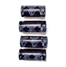 Low Loss 100V capacitors