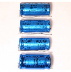 Alcap 16.00uF Low Loss 50VDC Electrolytic Capacitor