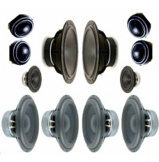 NaO Note II RS Speaker Kit. Drive Units Only.