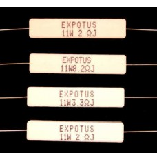 Ceramic Wire Wound Resistors 10/11W