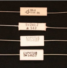 Ceramic Wire Wound Resistors 5W