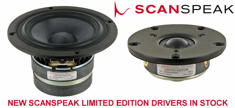 Scanspeak Limited Edition Drivers